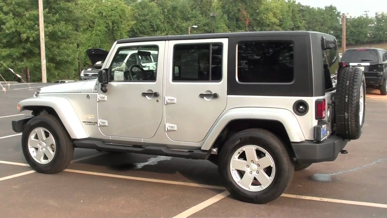 Superior FOR SALE 2007 JEEP WRANGLER UNLIMITED SAHARA!! 1 OWNER !! STK# 11906A    YouTube