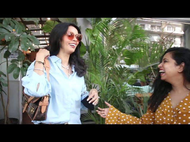 Mallika Sherawat Spotted At Kitchen Garden Juhu Reaction KGF