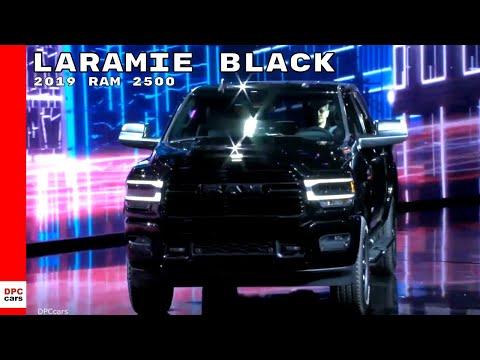 2019 Ram 2500 Laramie Black Unveiling
