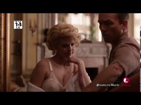 Joe hits Marilyn
