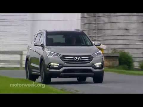 MotorWeek   Quick Spin: 2017 Hyundai Santa Fe Sport