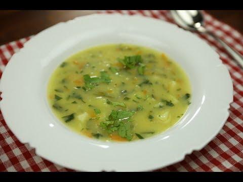 Kedlubnová polévka s mrkví a novými bramborami 2