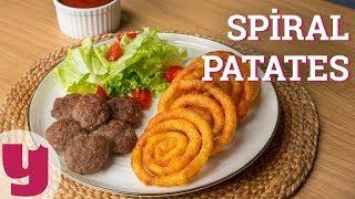 Spiral Patates Tarifi (Dönerse Senindir!)   Yemek.com