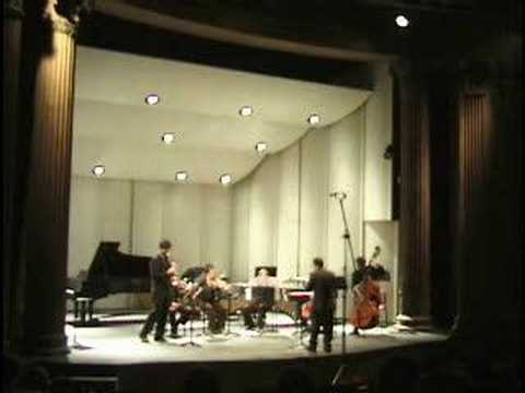 """Clarinet Concerto"" by Eduardo Alonso Crespo (3 mov)"