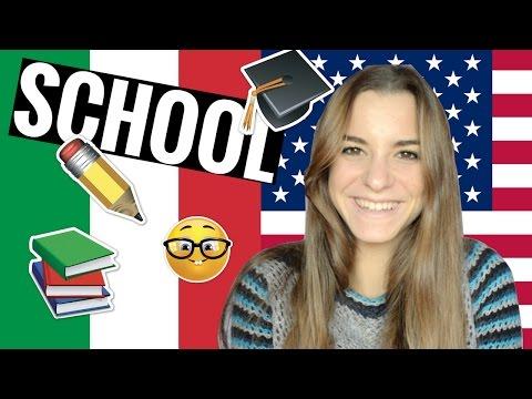 AMERICA vs ITALY - School || GINEVRA IORIO