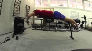 видео: Утро, тренировка в зале на биокинетике - Подготовка к Олимпиаде