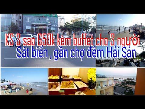 Trãi nghiệm Khách Sạn 3 sao sát biển Vũng Tàu kèm buffet sáng cho 3 người giá 650k   Rất hài lòng