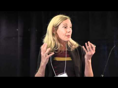 Dr. Susan Newell presents during panel discussion at Ivey Global Health Conference 2011