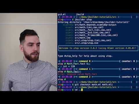 Introduction to Jbuilder (now Dune) (OCaml/Reason)
