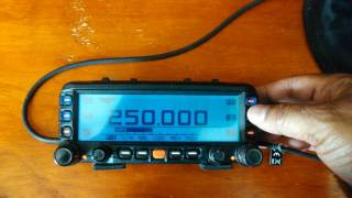 My review of the ftm-350 yaesu by mark elzey