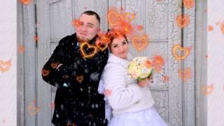 17.02.17 г. Свадьба Андрея и Татьяны. Клип из фото.