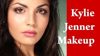 Easy KYLIE JENNER makeup tutorial - How to look HOT Thumbnail