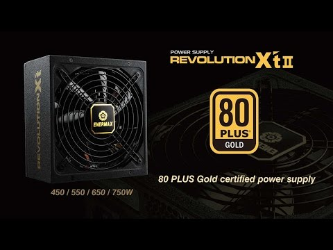 ENERMAX  REVOLUTION X'T II Power Supply