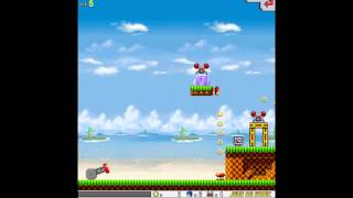 Angry Sonic ( Angry Birds ) PC Game Play