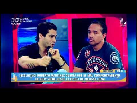Roberto Martinez hace esta sorpresiva revelación sobre Guty Carrera