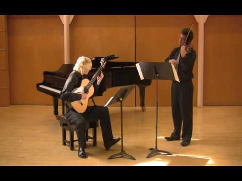 Romanian Folk Dances by Bartok PASIECZNY WATSON (guitar & violin)