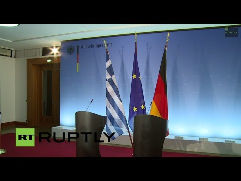 LIVE: Steinmeier meets his Greek counterpart