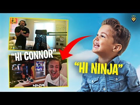 CONNOR MEETS NINJA! HE ROASTS HIM! IT FINALLY HAPPENED!!! (Fortnite: Battle Royale)