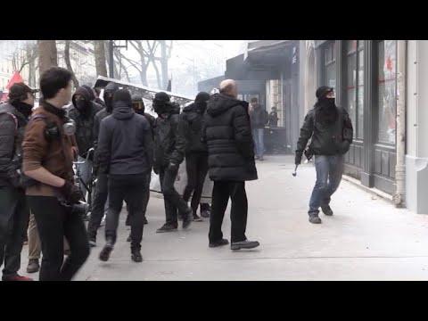 afpbr: Dia de protestos na França
