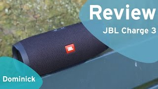 JBL Charge 3 review (Dutch)