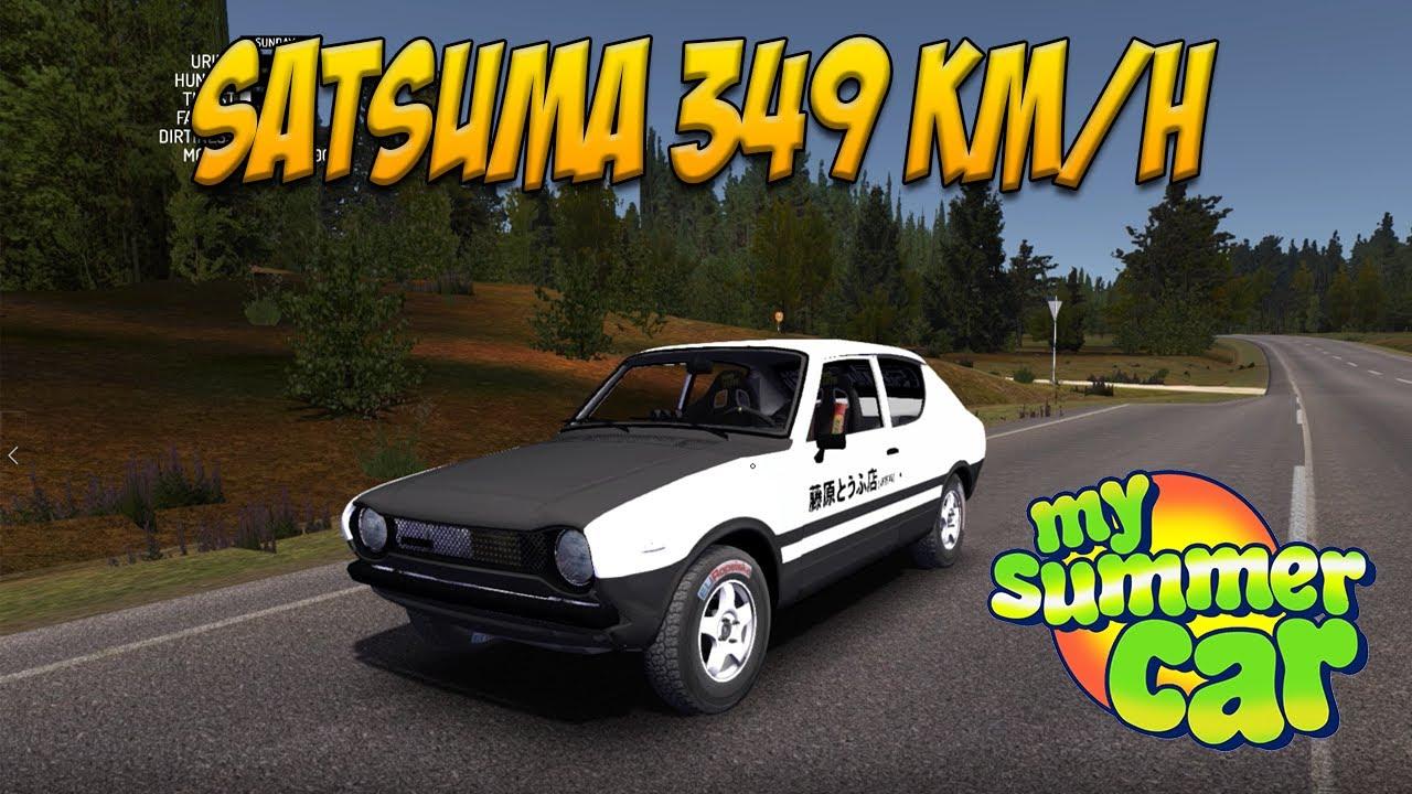 My Summer Car Satsuma 349 Km H Youtube
