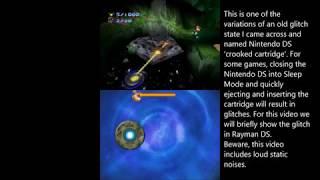 Nintendo DS Sleep Mode exploit: Rayman DS