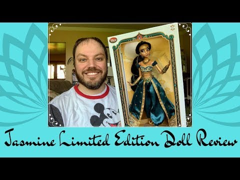 Princess Jasmine Limited Edition Disney Store Doll Review