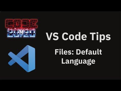 Files: Default Language