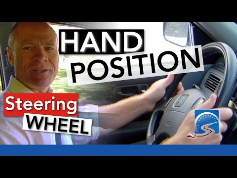 How to Position Your Hands on the Steering Wheel