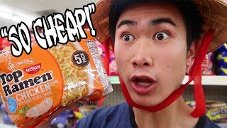 GOING TO THE DOLLAR STORE FOR THE FIRST TIME EVER | GING GING