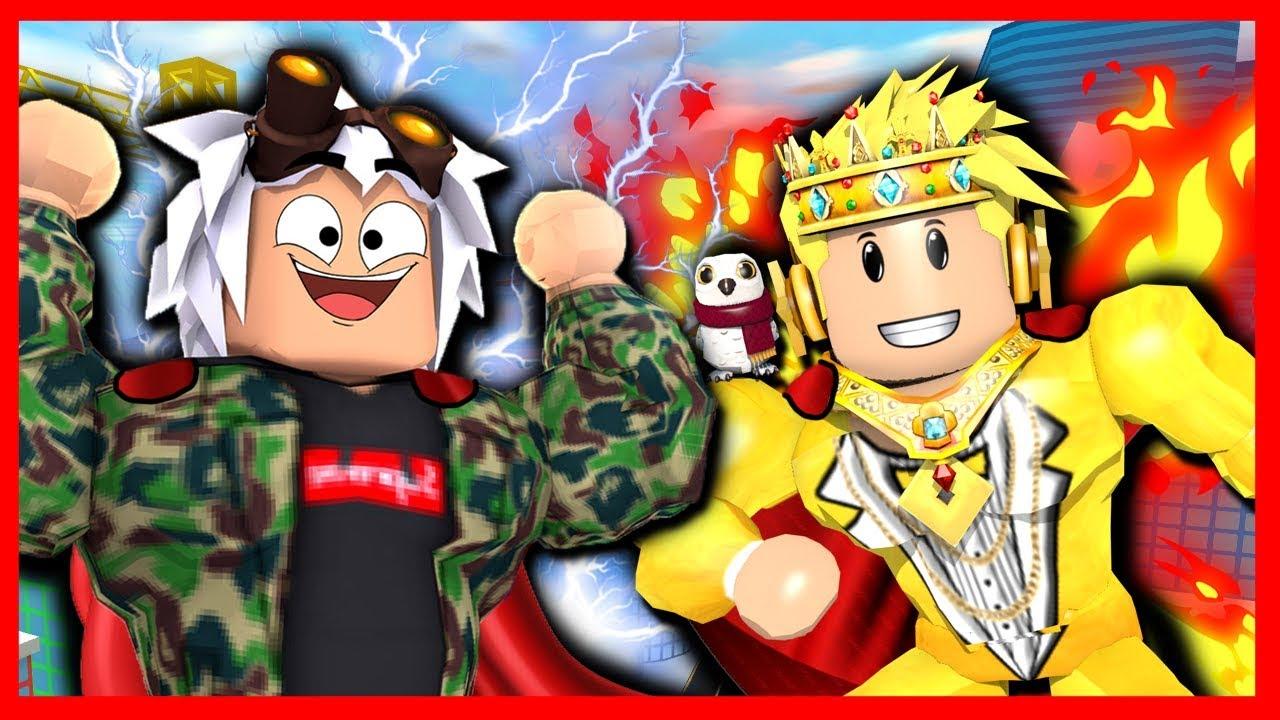 Los Mejores Superheroes De Mad City Rodny Y Kraoesp Youtube