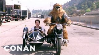 "Wes Anderson's ""Star Wars: Episode VII"" Audition Tape - CONAN On TBS"