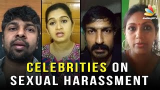 Celebrities Speak Out About SEXUAL Harassment | Monica, Devadarshini, Madhan Karky