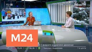 Арктические морозы придут в Москву 23 января - Москва 24