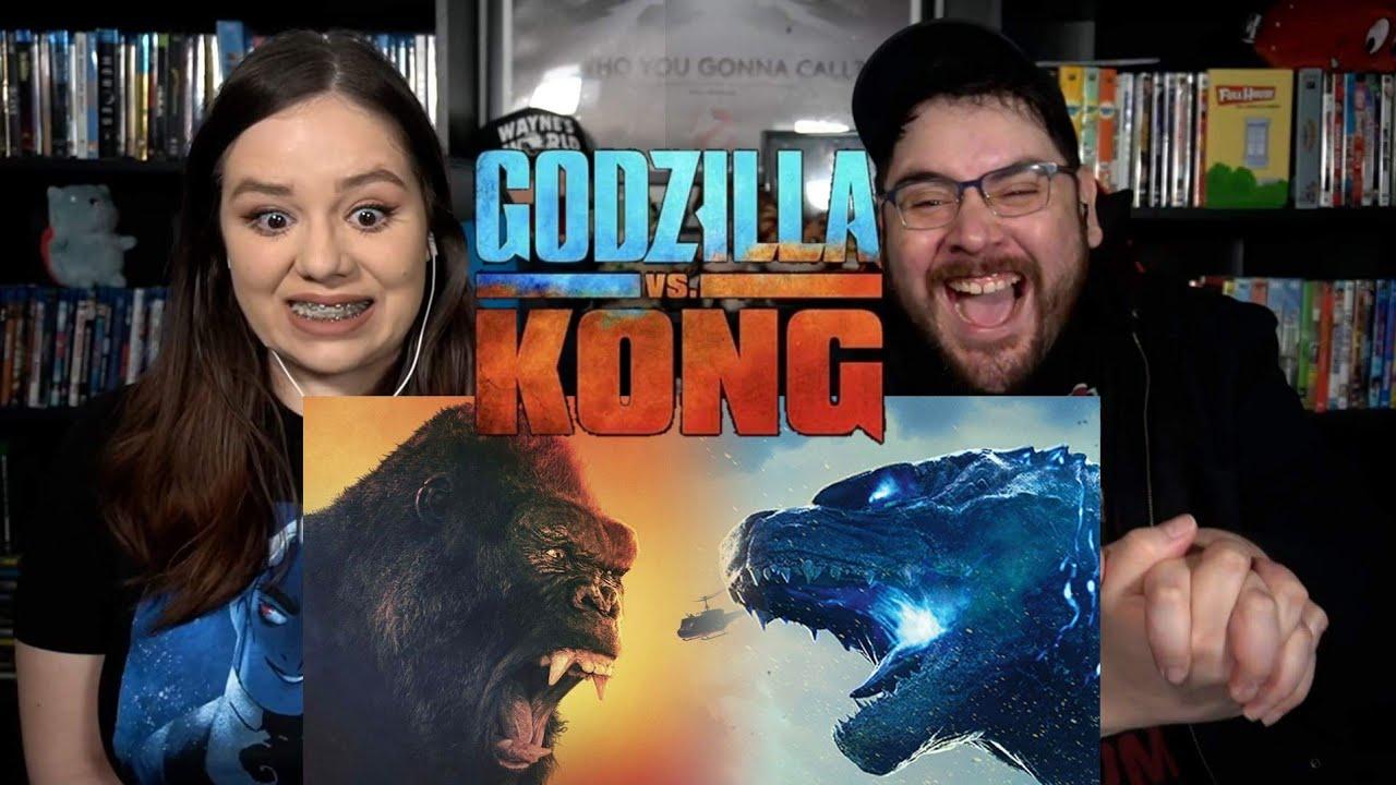 Godzilla vs. Kong - Official Trailer Reaction / Review