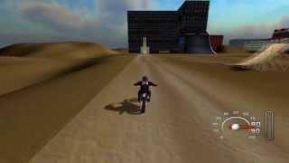 MX vs. ATV Unleashed City FMX Custom Freestyle Track