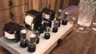 Тест лампового усилителя РР 6П3С