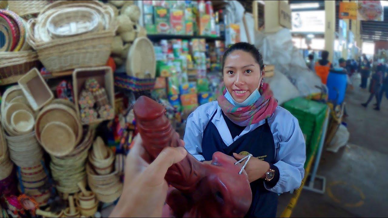 Peruanca asta ti-o SCOALA instant (Piata Vrajitoarelor din Machu Picchu)