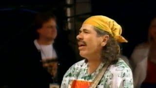 Смотреть клип Santana - Angels All Around Us