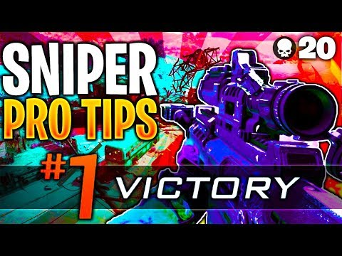 8 PRO Tips To Make YOU A BETTER SNIPER In BLACKOUT! (8 ADVANCED Tips To MASTER SNIPING In BLACKOUT)