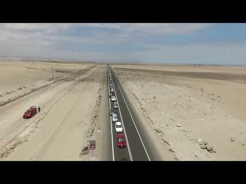 Largas filas en Frontera con Perú, Arica Octubre 2017