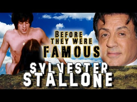 SYLVESTER STALLONE - Before They Were Famous