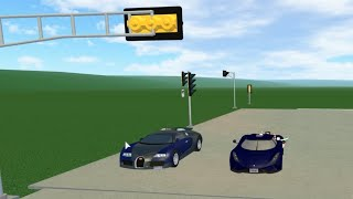 Roblox Greenville: Koenigsegg Regera VS Bugatti Veyron Drag Races! Which Is Faster?