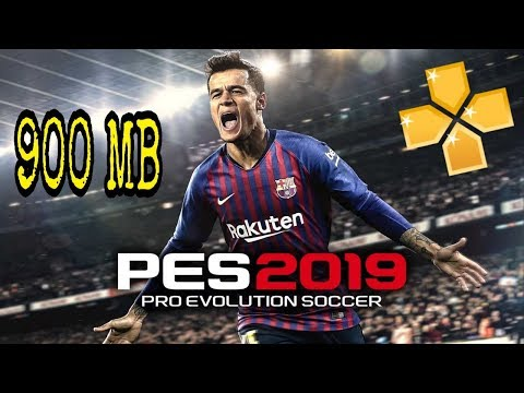 [900 MB] Download Pes 2019 PPSSPP Offline Android Game Best Graphics New Kits & Transfers Update