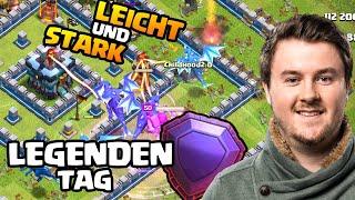 Elektrodrache + Loons auf Rathaus 13 | 3 Sterne in der Legende | Clash of Clans deutsch