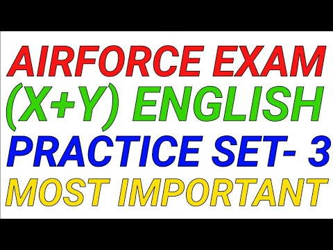 Air Force Exam 2018airforce Practice Set3 Air Force