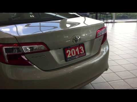 2013 Camry LE - Milton Toyota