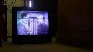 TV dies from implosion