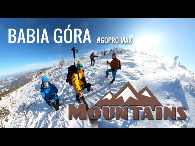 Babia Góra Zimą - 1725 m n.p.m. // #GOPRO MAX