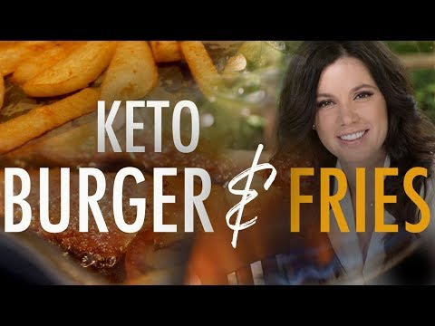 """bacon,-avocado-keto-burger-&-""""fries"""""""